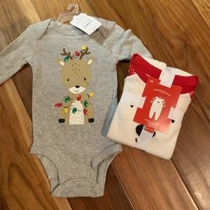 NWT baby holiday Christmas bundle